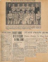 Image of Seahawks basketball team
