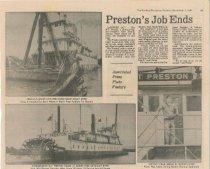 Image of W.T. PRESTON retires