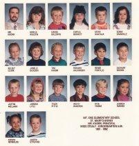 Image of 2009.016.057 - A. M. Kindergarten, Mt. Erie, 1991-1992
