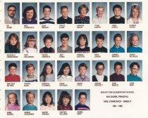 Image of Grade 4, Mt. Erie, 1991-1992