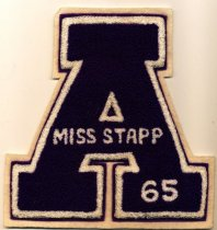 Image of honorary award for Miss Stapp