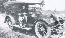 Image of cousins, Bill Lowman and Albert Tietjen, Jr., c.1916