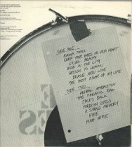 Image of The Allies record album , back