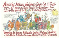 Image of 2014 Antique Machinery Show poster