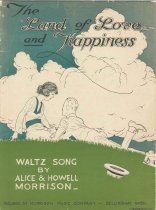 Image of The Land of Love and Happiness Sheet Music by MORRISON