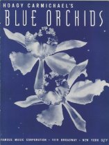 """Image of """"Blue Orchids"""", sheet music"""
