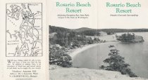 Image of Rosario Beach Resort flyer (outside)