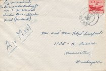 Image of envelope from Roy Maricich