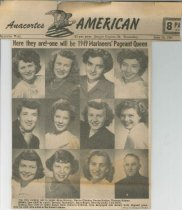 Image of 1949 Marineers' Pageant Queen candidates