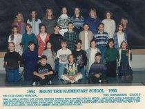 Image of 2009.016.121 - Mt. Erie School  1994-1995  Grade 6