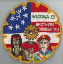Image of Wiatava Lodge 13 jacket patch