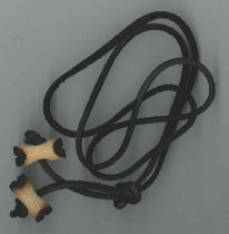Image of Woodbadge cord with beads