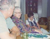 Image of 2014.030.010 - Bob, Thelma Gilden Hewson, Dorothy Hawes