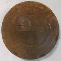 Image of Rusty Hubcap (After Cleaning)