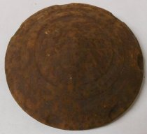Image of Rusty Hubcap (Before Cleaning)