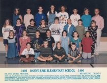 Image of 2009.016.132 - Mt. Erie School  1995-1996  Grade 5