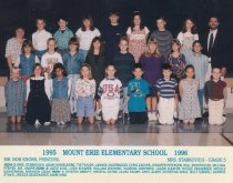Image of 2009.016.133 - Mt. Erie School  1995-1996  Grade 5