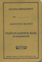 Image of Savings book, Peoples National Bank