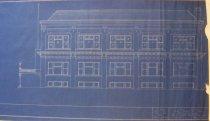 Image of Elks Hall blueprint