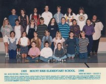 Image of 2009.016.137 - Mt. Erie School  1995-1996  Grade 6