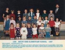 Image of 2009.016.139 - Mt. Erie School  1996-1997 Kindergarten A.M.