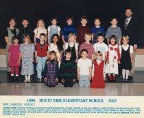 Image of 2009.016.142 - Mt. Erie School  1996-1997 Grade 1