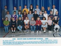 Image of 2009.016.186 - Mt. Erie School  1998-1999  Grade 5