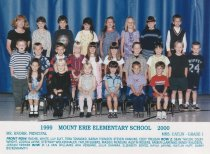 Image of 2009.016.195 - Mt. Erie School  1999-2000  Grade 1