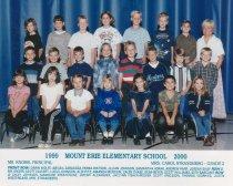Image of 2009.016.199 - Mt. Erie School  1999-2000  Grade  2