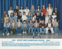 Image of 2009.016.208 - Mt. Erie School  1999-2000  Grade  6