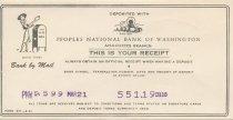 Image of deposit receipt 3/21