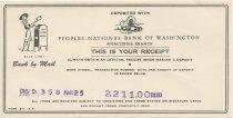 Image of deposit receipt 3/25