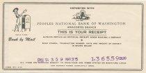 Image of deposit receipt #2 3/25