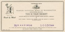 Image of deposit receipt 3/26