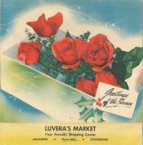 Image of 1951 Luvera's Market calendar