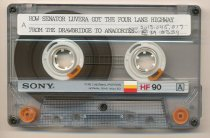 Image of Cassette tape about Highway 20