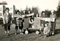 Image of AHS students, occasion unknown