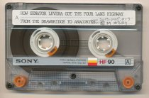 Image of Casette tape about Highway 20