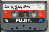Image of tape - Paul Luvera, Sr., re: Today Show