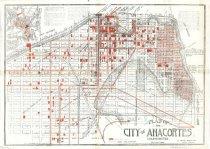 Image of Anacortes plat map, 1890