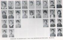 Image of Whitney School  1968-1969  Kindergarrten