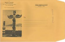 Image of Luvera envelope for mailing his book