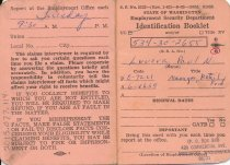 Image of Unemployment identification booklet