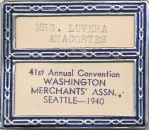 Image of WA Merchants' Assn. Convention I.D.