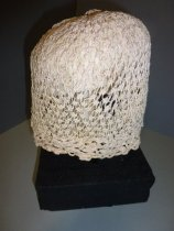 Image of Crochet cap back view