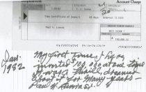 Image of Certificate of Deposit