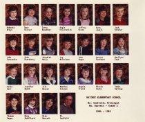 Image of 2009.016.367 - Whitney School  1984-1985  Grade 2