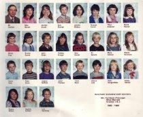 Image of 2009.016.375 - Whitney School  1985-1986  Grade 1 & 2