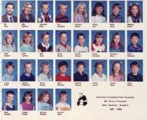 Image of 2009.016.393 - Whitney School  1987-1988  Grade 2