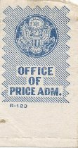 Image of Office of Price Administration stamp